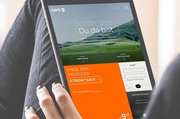 Friendventure GmbH Kunden & Projekte Mark-E WordPress-Webseite