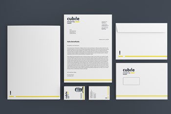 HCG corporate designs Kunden & Projekte cubile - Corporate Design